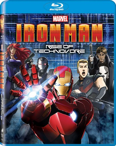 Iron Man: Rise of Technovore [Blu-ray] DVD