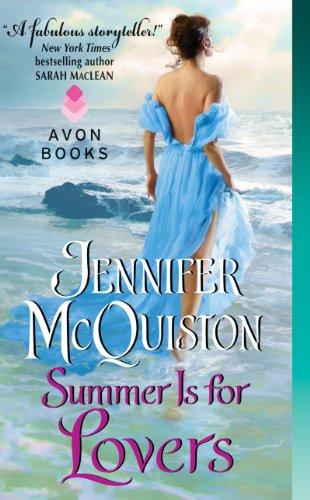 Book Summer is for Lovers - a woman in a blue gown walking into the surf