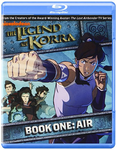 The Legend of Korra: Book One: Air [Blu-ray] DVD
