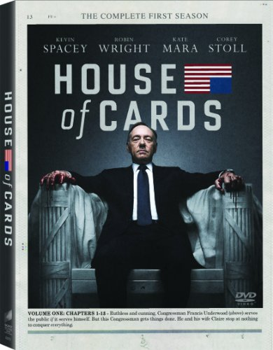 House of Cards: The Complete First Season DVD