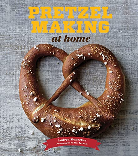 Book Pretzel Making at Home. Look, it's carbs and salt. What's not to love?