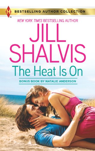 Book The Heat is On Jill Shalvis - two people embracing on a sand dune Get off the dunes people