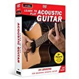 Learn to Play Acoustic Guitar (4-DVD) for beginners