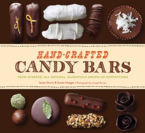 Book Hand Crafted Candy Bars