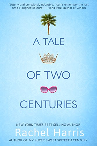 Book A Tale of Two Centuries - a girl in a white sweater from the current era atop a brocade skirt from the 17th century