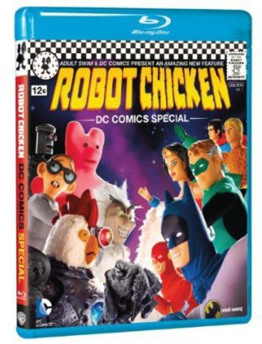 Robot Chicken DC Comics Special cover