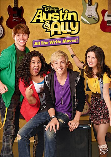 Austin & Ally: All the Write Moves DVD