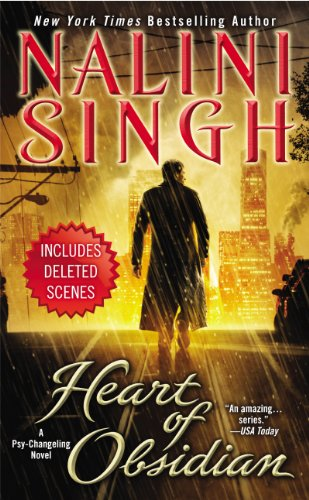 RITA Reader Challenge: Heart of Obsidian by Nalini Singh