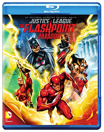Justice League: The Flashpoint Paradox cover
