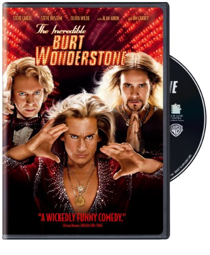 The Incredible Burt Wonderstone DVD
