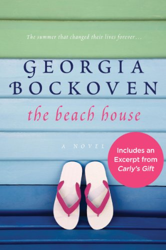 Book The Beach House a pair of flip flops against green and blue painted clapboard