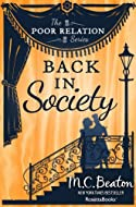Book Cover: Back in Society by M C Beaton