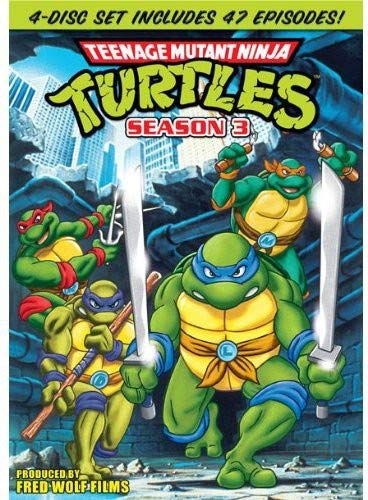 Teenage Mutant Ninja Turtles: Season 3 DVD