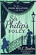 Book Cover: Sir Philip's Folly by M C Beaton