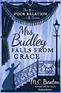 Book Cover: Mrs. Budley Falls from Grace by M. C. Beaton