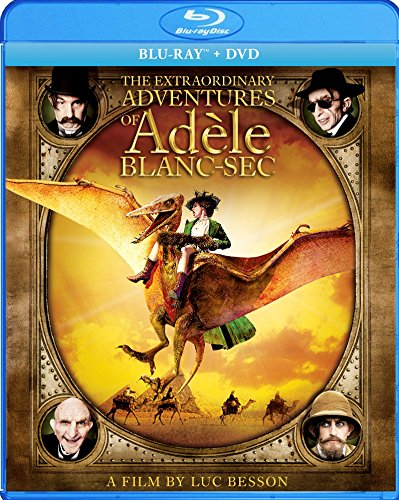 The Extraordinary Adventures of Adèle Blanc-Sec cover