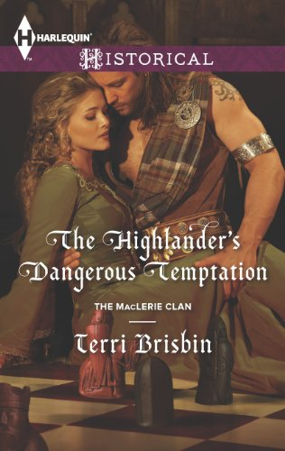 Book The Highlander's Dangerous Temptation. They look like they're about to do it on a rickety wooden table.