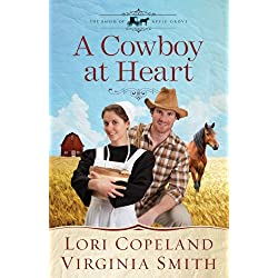 A Cowboy at Heart (The Amish of Apple Grove Book 3)