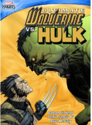 Ultimate Wolverine vs. Hulk cover