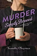 Book Cover: Murder Simply Brewed by Vannetta Chapman