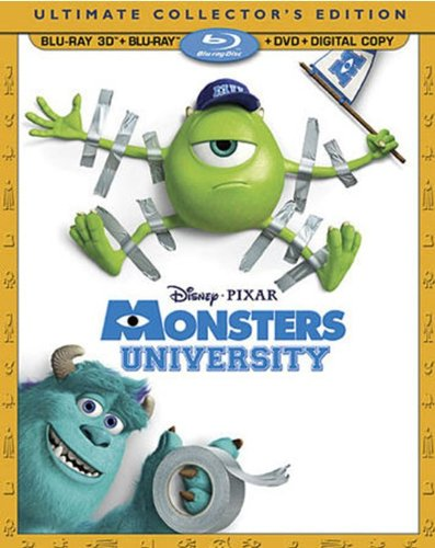 Monsters University  DVD