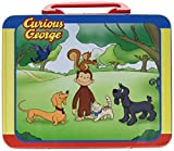 Pressman Toys Curious George Puzzle in Lunchbox Tin (24 Piece)