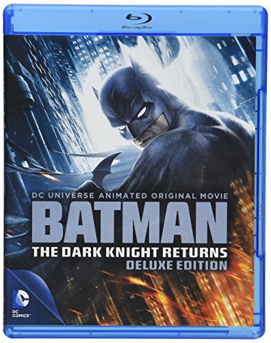 Batman: The Dark Knight Returns Deluxe Edition cover