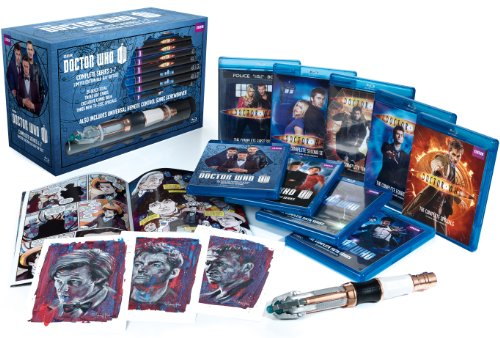 Doctor Who: Series 1-7 Limited Edition Blu-ray Giftset DVD