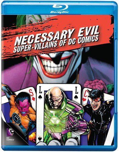 Necessary Evil: Super-Villains of DC Comics cover