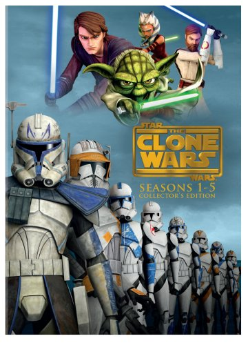 Star Wars: The Clone Wars - Seasons 1-5 DVD