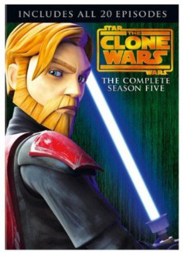 Star Wars: The Clone Wars - The Complete Season Five DVD