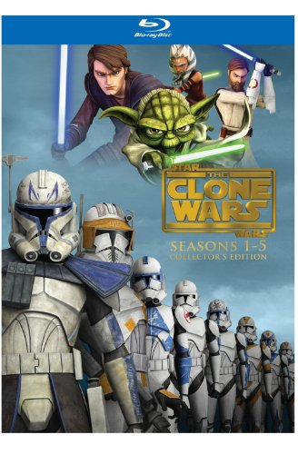 Star Wars: The Clone Wars - Seasons 1-5 [Blu-ray] DVD