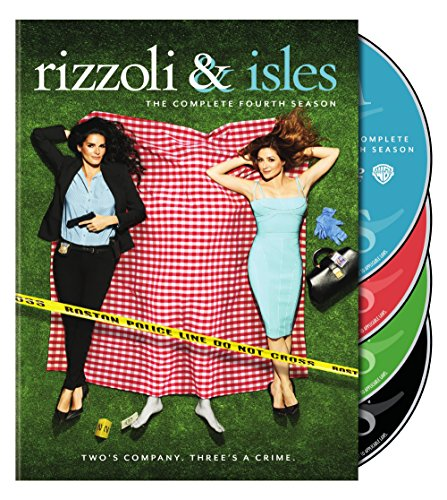 Rizzoli & Isles: The Complete Fourth Season DVD