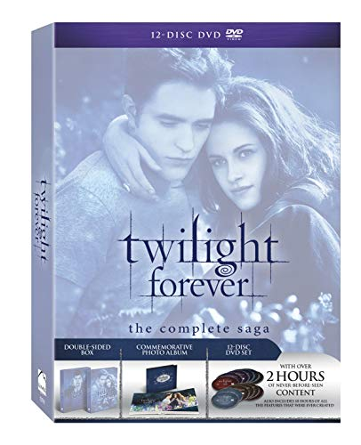 Twilight Forever: The Complete Saga Box Set [DVD + Digital Copy + UltraViolet] DVD