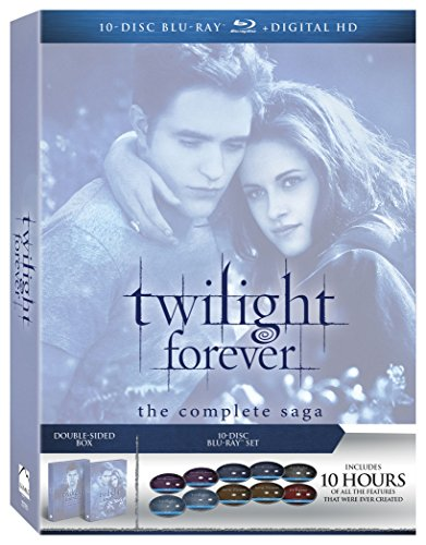 Twilight Forever: The Complete Saga Box Set [Blu-ray] DVD