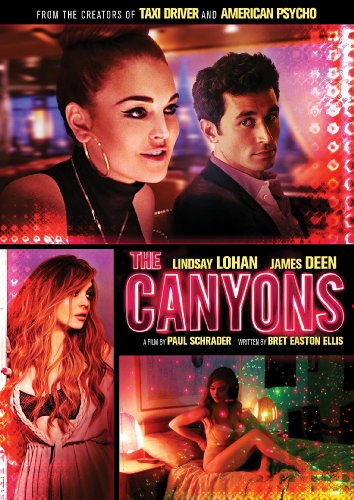 The Canyons DVD