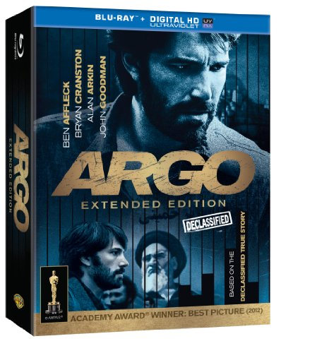 Argo: The Declassified Extended Edition  DVD