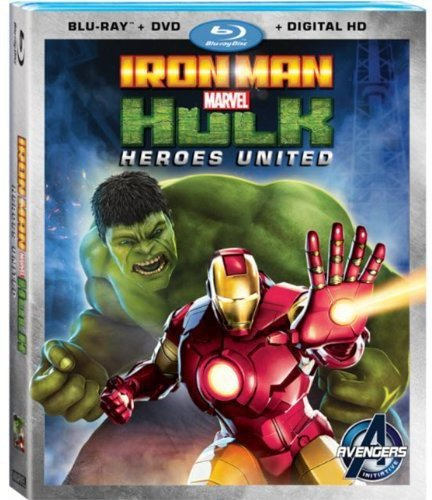 Iron Man & Hulk: Heroes United cover