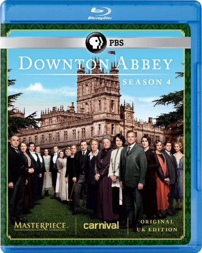 Downton Abbey Season 4 [Blu-ray] DVD