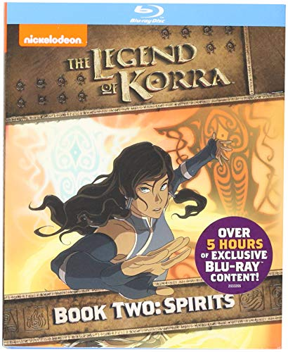 Legend of Korra: Book Two - Spirits [Blu-ray] DVD