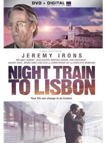Night Train to Lisbon DVD