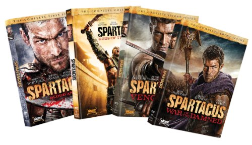 Spartacus Seasons 1-4 Bundle DVD