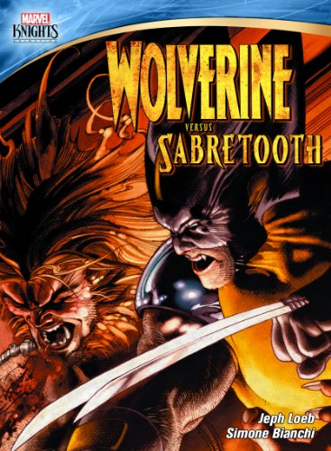 Wolverine Vs. Sabretooth cover