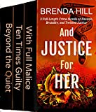 Free Kindle Book : And Justice for Her: Boxed Set of Mystery, Suspense, and Romance Thrillers