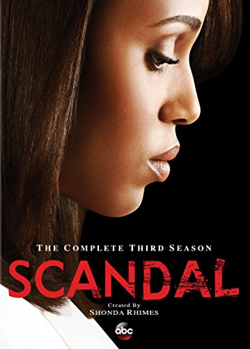 Scandal: Season 3 DVD