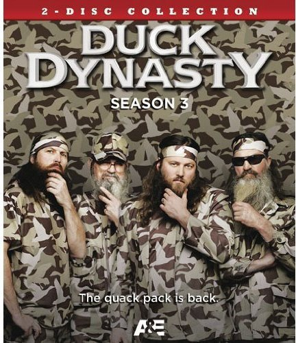 Duck Dynasty Season 3 Blu-ray DVD