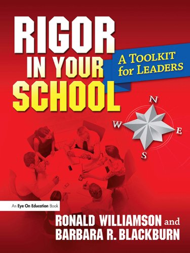 Rigor in Your School a Toolkit for Leaders