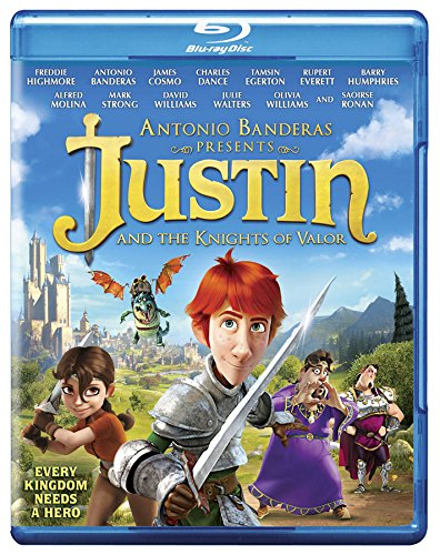 Justin & The Knights of Valour [Blu-ray] DVD