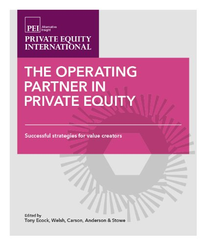 PDF Operating Partner in Private Equity Volume 1 Successful strategies for value creators