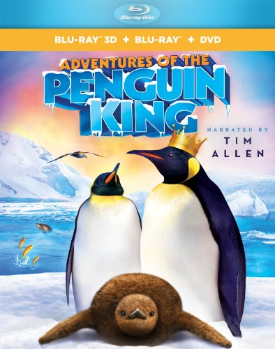 Adventures of the Penguin King 3D  DVD